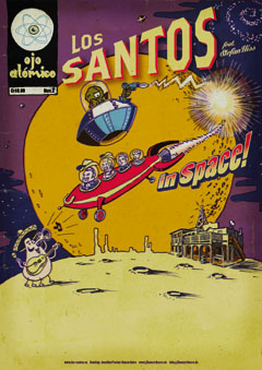 Plakat LOS SANTOS in space